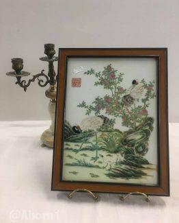 Ahorn1, Entrümpelung, Asiatisch, Keramik, Holzrahmen,