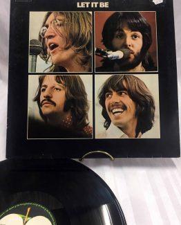1 LP Vinyl Apple Record The Beatles Let it be, LP, Ahorn1, Entrümpelung Mainz