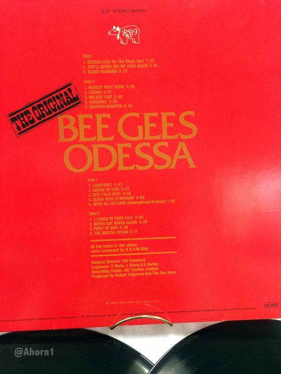 2 LP Vinyl RSO 1969 Bee Gees Odessa, LP, Ahorn1, Entrümpelung Mainz