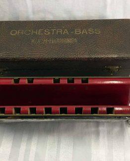 Koch Orchester Bass Mundharmonika, Ahorn1, Entrümpelung Mainz
