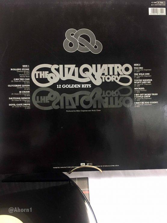 1 LP Vinyl Emi 1979 The Suzi Quatro Stoy Golden Hits, LP, Ahorn1, Entrümpelung Mainz